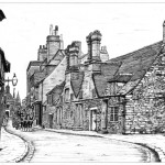 The Alms Houses, Old Poole circa 1900