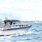 Aran's Maiden Voyage off Ballard Down