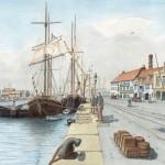 Bygone Days on Poole Quay
