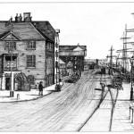 Customs House & Quay, Old Poole circa 1900