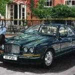 Bentley and Owner