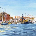 Poole Quay at Play