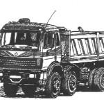 Heavy Duty Tipper Truck