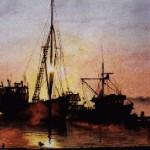 Trawlers at Dawn