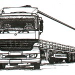 Articulated 38 ton Lorry