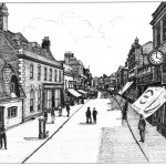 Middle High Street, Old Poole circa 1900