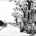Wimborne Road above the George Inn, Old Poole circa 1900