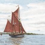 Vigilant off Yarmouth
