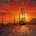 Flaming Skies at Dawn
